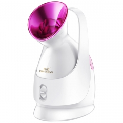 Mist Sprayer Facial Steamer Nano Lonic Humidifier Moisturizing Skin Pores Cleansing Anti-acne as shown