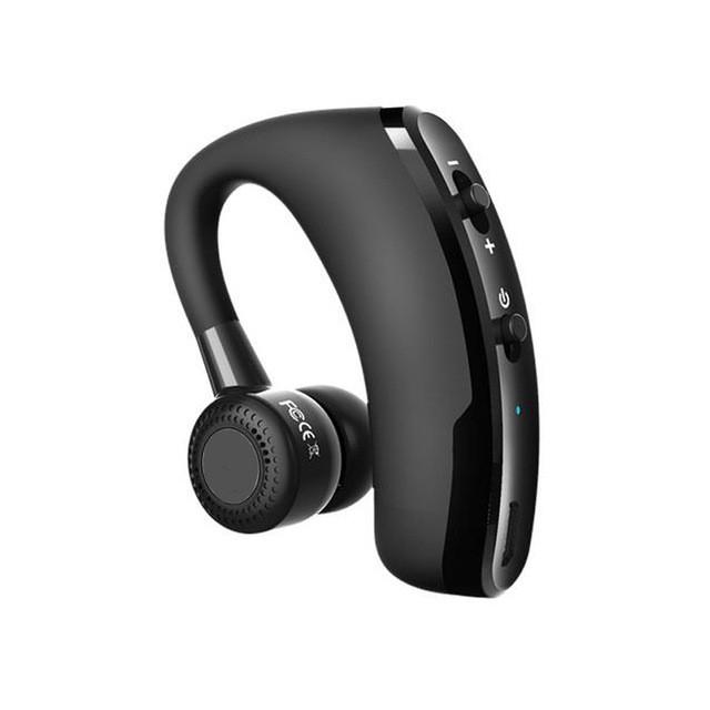 V9 Handsfree Bluetooth Headset Earphone Wireless Voice Control Sports Music Bluetooth Headphones as shown