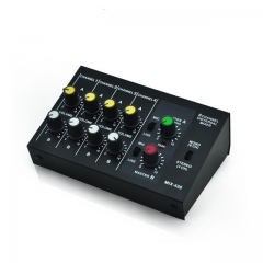 8 Ch Channels Mini Home Studio Stage Music Sound Microphone Mixer Audio Console For DJ Karaoke