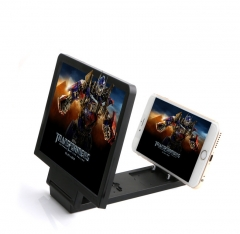 Radiation Protection Mobile Phone Bracket 3D Amplifier HD Video Folding Manual Screen Display as shown one size