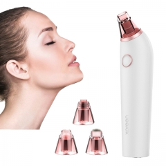 Electric Blackhead Remover Suction Pore Vacuum Cleaner Facial Blackhead Removal Tool as shown