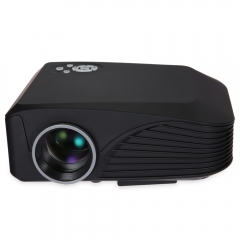 Portable LCD Projector H88 High Resolution Full HD 1000LM 3D Supported Multi-media LCD Projector as shown one size