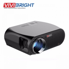 VIVIBRIGHT Android 6.0.1 LED Projector. 1280x800 Resolution 3200 Lumens Built-in WIFI Bluetooth as shown one size
