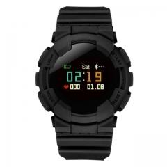 Smartband watch v587 Heart Rate pressure SmartWatch Fitness Tracker Smart Wristband Pedometer black one size