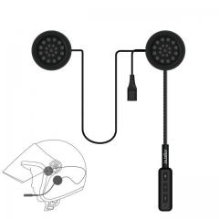Motor Wireless Bluetooth Headset Motorcycle Helmet Earphone Headphone Speaker Handsfree Music black