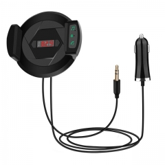 Bluetooth FM Transmitter Wireless Radio Adapter Car Kit Car Charger Hands Free Phone