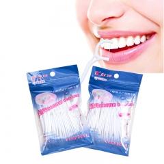 120pcs Dental Flosser Interdental Brush Teeth Stick Toothpicks Floss Plastic Tooth Picks0 as shown