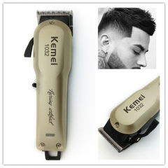 Kemei Powerful Hair Beard Trimmer Professional Electric Hair Clipper Razor as shown one size