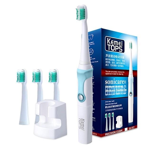 Electric Toothbrush Ultrasonic Whitening Teeth 30000/SEC Professional Teeth Protection Brush as shown