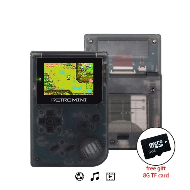 Retro Game Console 32 Bit Portable Mini Handheld Game Players Built-in 940 For GBA Classic Games