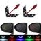 2pcs Arrow Panel For Car Rear View Mirror Indicator Turn Signal Light Car LED Rearview Mirror Light yellow one size