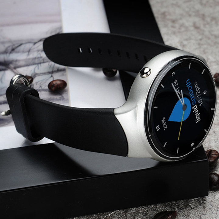 I4 Pro Smart Watch Android 5.1 support WIFI 3G GPS Heart Rate Monitor ROM16GB/RAM2GB  Quad Core silver one size