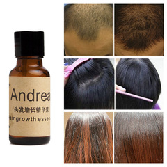1 bottle Andrea Hair Growth Essence Hair Loss Liquid 20ml dense hair as shown