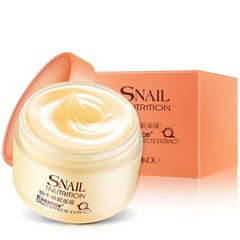 75g Snail Sleeping Mask Essence Moisturizing Night Cream Anti Aging Wrinkle Cream as shown
