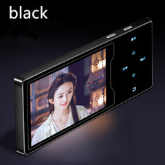 RUIZU D08 Mp3 Player Usb 16G Storage 2.4in HD Large Color Screen Play black