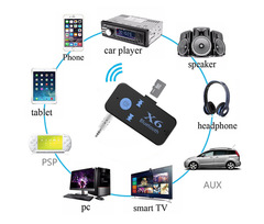 car X6 Bluetooth 5.0 Receiver 3.5mm