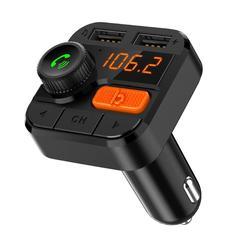 BT82D Bluetooth Dual USB Car Charger MP3 Player Handsfree FM Transmitter
