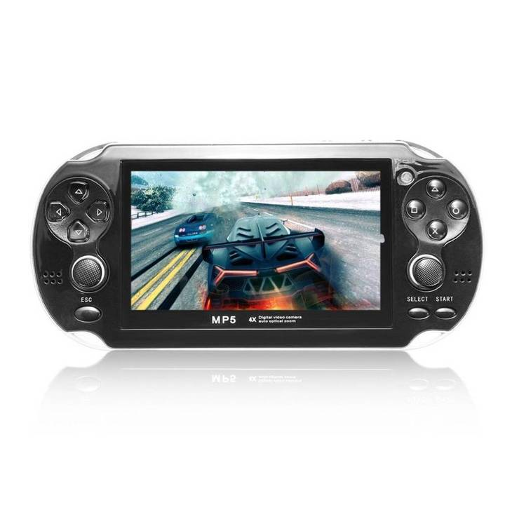 8GB 4.3 inch Portable handheld Game Console Camera MP4 MP5 Gaming Player HD Video Game Console psp black one size