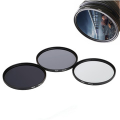 ND Filter Neutral Density ND2 ND4 ND8 Filtors Photography for Canon Nikon Sony Camera as shown 49mm