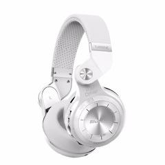 Bluedio T2 Bluetooth Stereo Headphone Wireless Folding Headphones Built-in Mic BT5.0 Bass Headphones white
