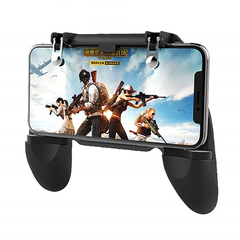 W10 Pubg Controller Mobile GamePad Joystick For Mobile Phone Game Pad Trigger l1r1 Shooter as shown one size
