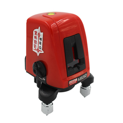 A8826D Laser Level 2 Red Lines with 1 Point 360 degree Rotation Self- leveling Cross Laser Levels as shown
