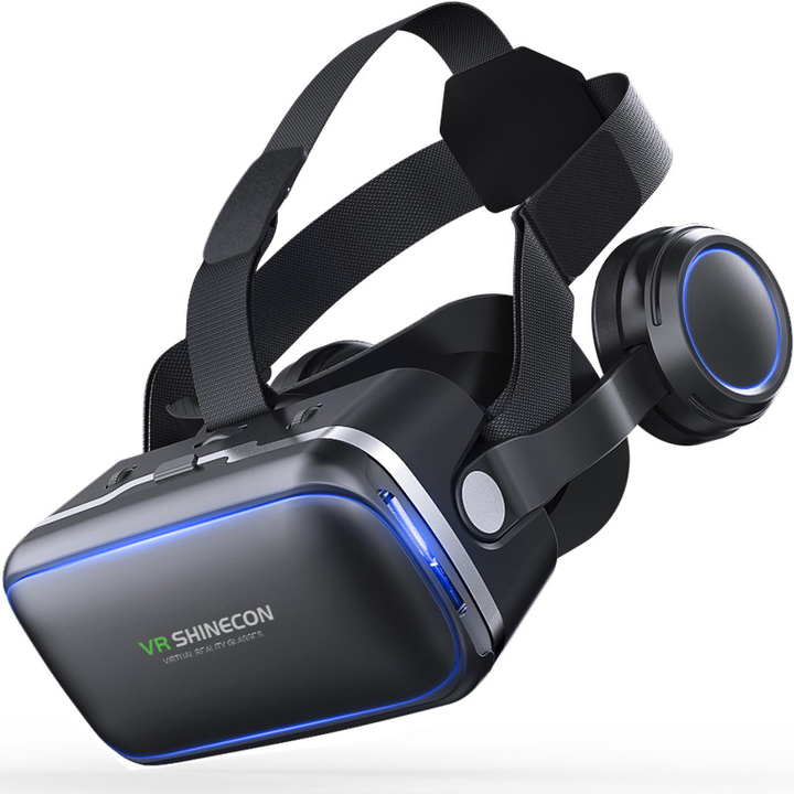 VR Virtual Reality Glasses 3 D 3D Goggles Headset Helmet  Smartphone Smart Phone Stereo as shown one size one size