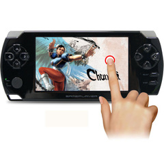 Coolbaby 4.3 inch touch palm PSP game machine 8G memory GBA game console handheld touch screen black