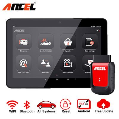 Ancel X6 OBD2 Professional Automotive Bluetooth Scanner as shown