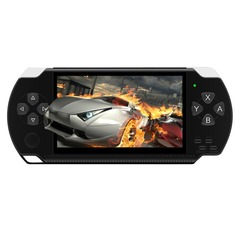 For X6 PSP Handheld Game Console Mp5 Mp4 Player Real 8gb Game Camera Video psp black one size