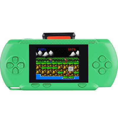 Handheld Game Player 4.3inch Colorful Display Game Console 328Games Purple