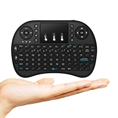 English 2.4GHz Wireless i8 Mini Gaming Keyboard Fly Air Mouse For Smart TV Box PS3 as shown one size
