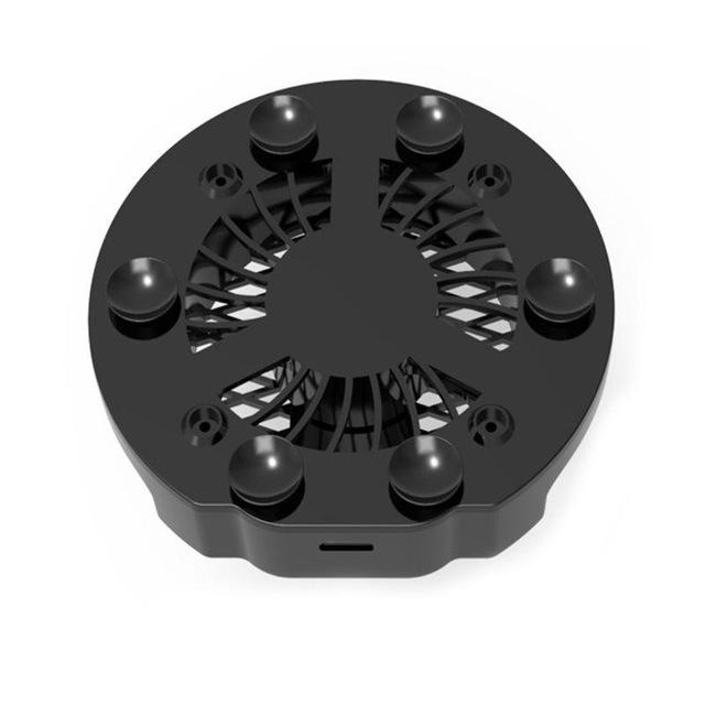 Fan Radiator Mobile Phone Cooler Cooling black one size