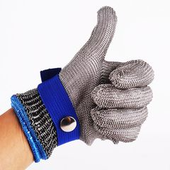 Hig quality Safety Cut Proof Stab Resistant Protect Glove 100% Stainless Steel Metal Mesh s