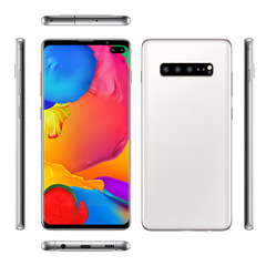 Big Screen Smartphone Cectdigi S10 Plus 6.5 Inch Android 9.0 Face/Fingerprint/Iris Recognition white