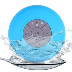 Mini Bluetooth Speaker  Waterproof Wireless Speakers, For Showers, Bathroom, Pool, Car, Beach blue one size