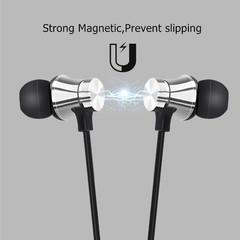 Wireless Bluetooth Earphone Stereo Sports Waterproof white