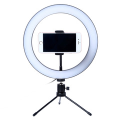 Photography LED Selfie Ring Light 20CM Dimmable With Table Tripods 20CM