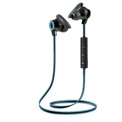 hot Outdoor Running Small Horn Stereo Sport Wireless Headset Earphone blue