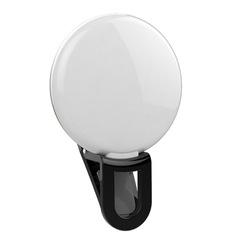 Selfie Flash Led Mini Live broadcast Fill Light Bluetooth Self-Timer Beauty Lens Led black one size