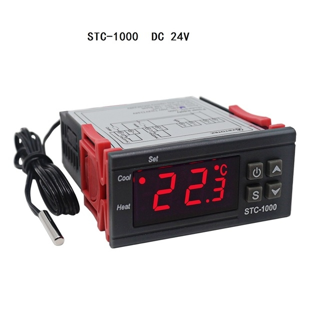 12V//24V//110V//220V STC-1000 Digital Temperature Controller Thermostat w//NTC K