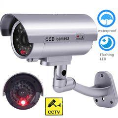 CCTV camera Dummy security fake camera led video surveillance dummy as shown