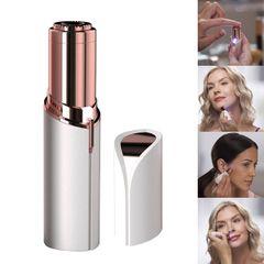 Electric Epilator Mini Painless Hair Removal Epilator For Women Face Lip Hair Body Facial Razor as shown a