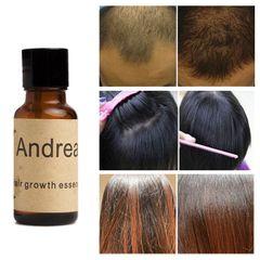 1 bottle Andrea Hair Growth Essence Hair Loss Liquid 20ml dense hair as shown