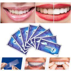 7 Pairs Teeth Whitening Strips Oral 3D Teeth Bleaching Strips Stain Removal Tooth Repairing 7 Pairs