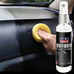Automotive Plastic Parts Retreading Agent Interior Maintenance Car Maintenance Wax Leather 如图所示 As shown 100ml