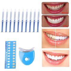 Dental Peroxide Teeth Whitening Kit Tooth Bleaching Gel Kits Dental Brightening Teeth Whitening 10 pcs kit