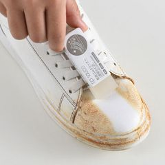 1Pc Cleaning Eraser Suede Shoes Stain Cleaning Tool Sheepskin Leather Cleaning Care Shoe Cleaner White one size