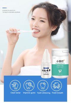 Teeth whitening remove smoke stains fresh breath bad breath oral hygiene dental care as show