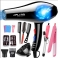 SUOZHI 4000 5-speed  Blue Light Anion Ceramic Ionic Fast Styling Blow Dryer Hair Drier +full tools black one size